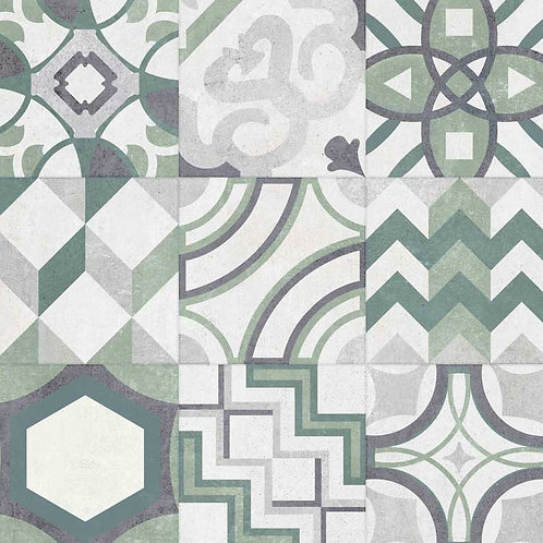 GeoCeramica Porto, kleur Verde, 60 x 60 x 4