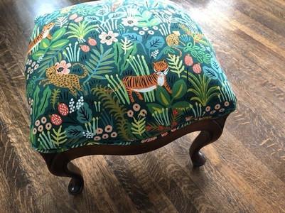 Nursery footstool