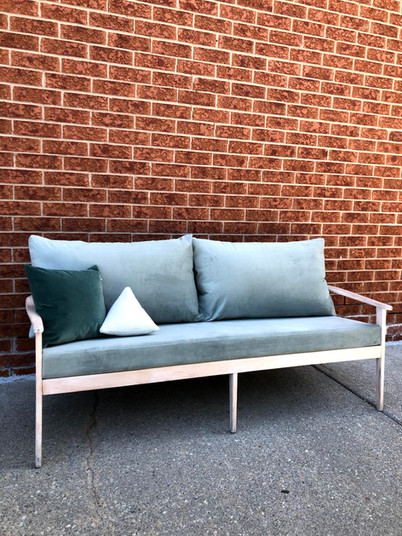 Vintage MCM couch