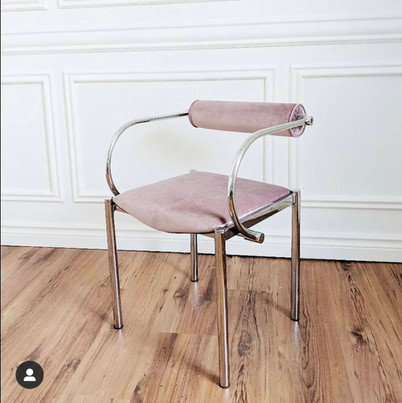 Modern chrome chair