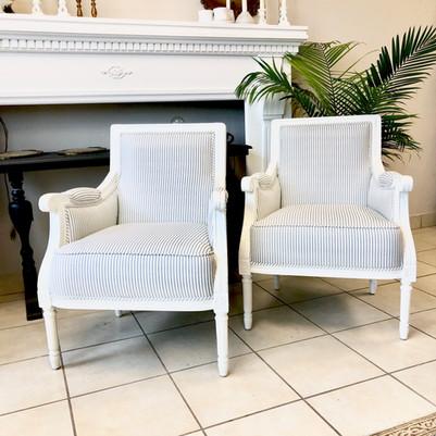 Wayfair armchairs