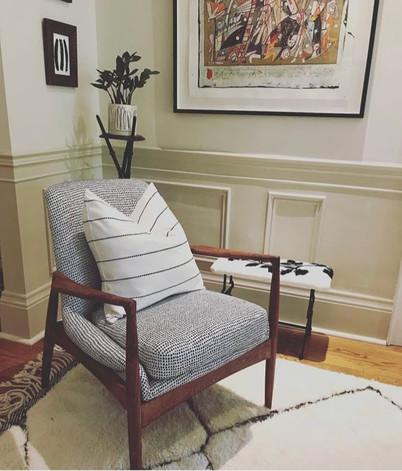 MCM arm chair