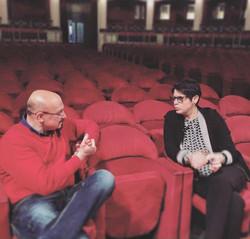 Interview for RaiTre Politeama