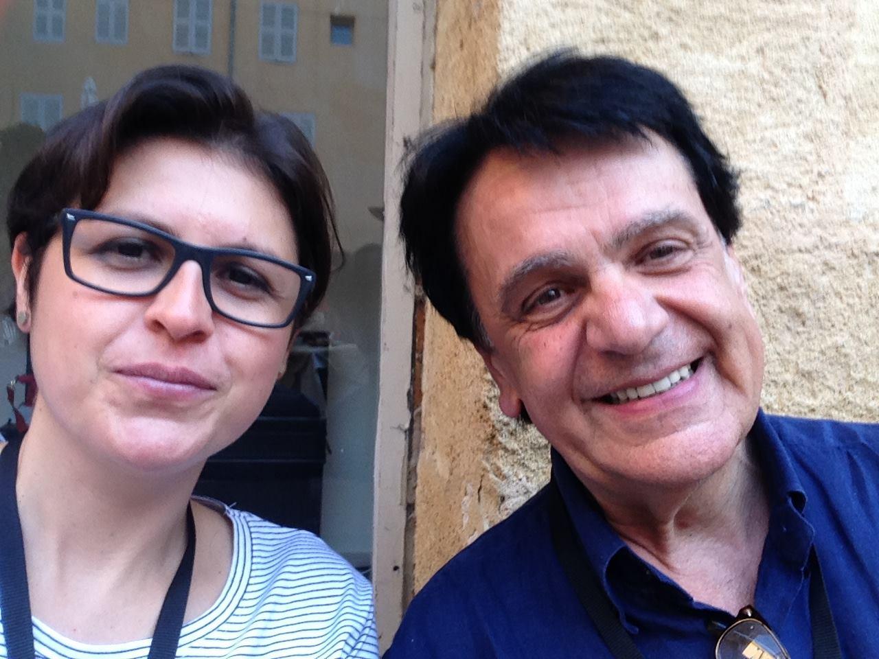 With Fabio Vacchi