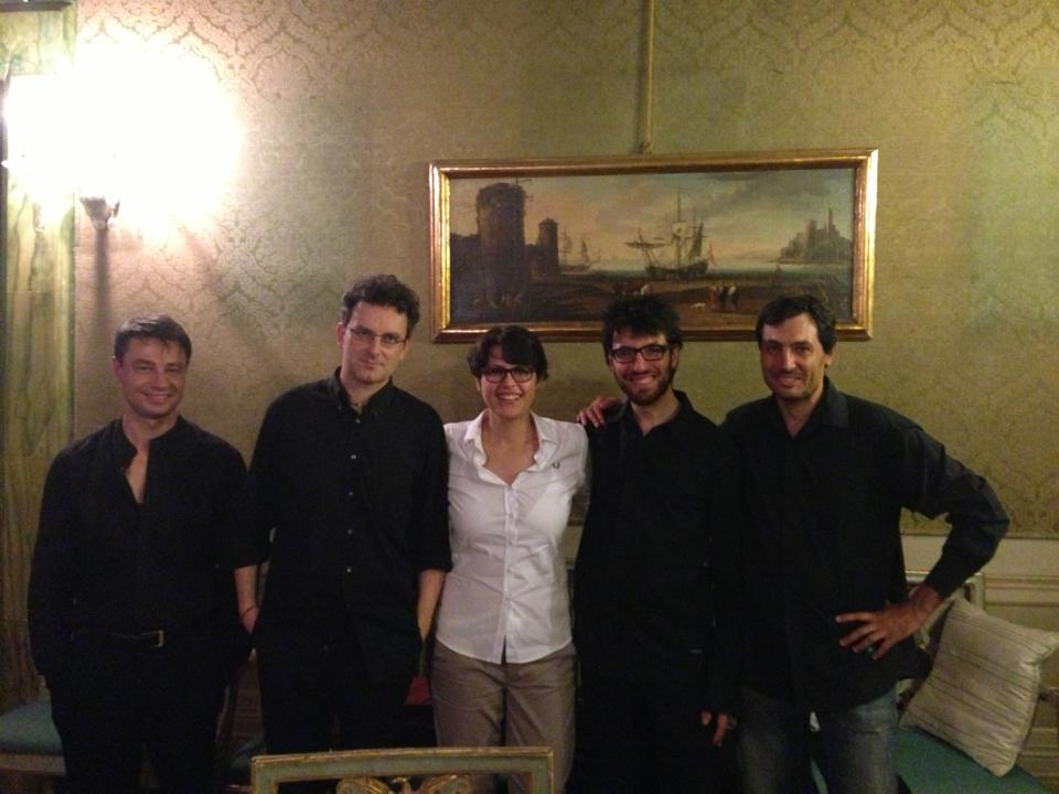With Quartetto Prometeo