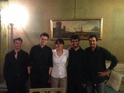 With Quartetto Prometeo