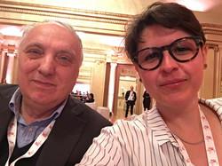 With Adriano Guarnieri