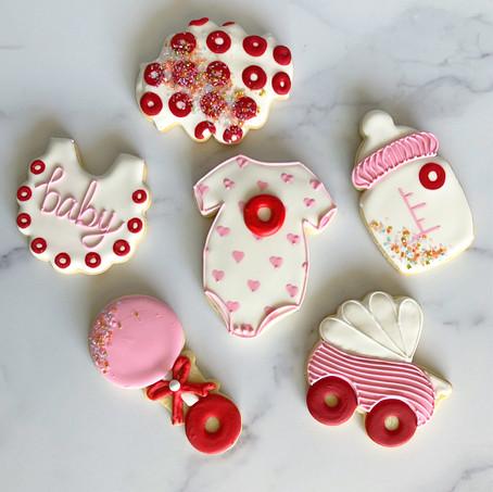 Phish Baby Shower Sugar Cookies