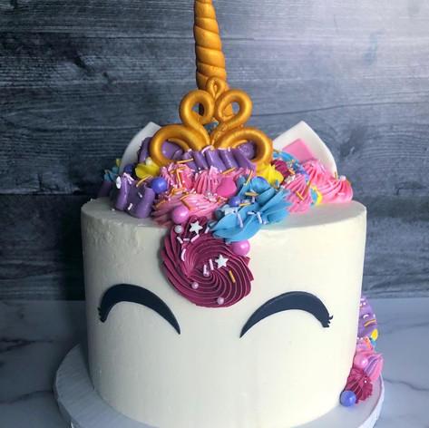 Unicorn Princess Birthday Cake