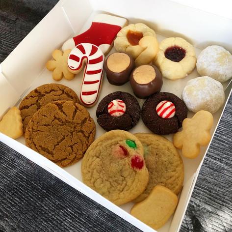 Christmas Cookie Variety Box