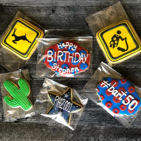 Phish custom cookies