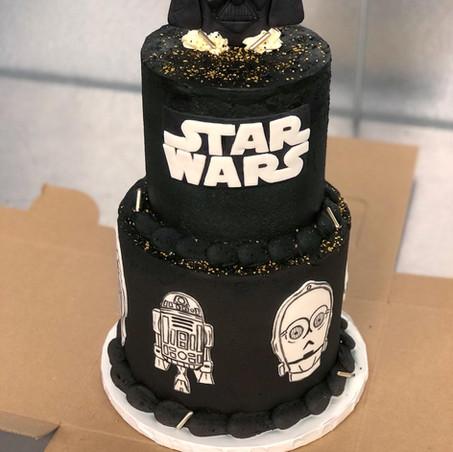 Star Wars Birthday Cake