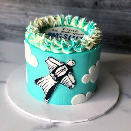 Wingsuit Phish Cake