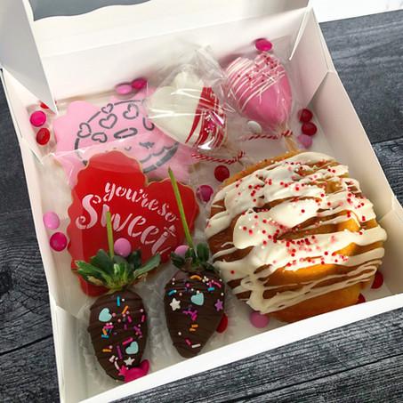 Valentine's sampler box
