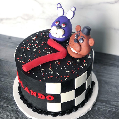 5 Nights of Freddy Cake
