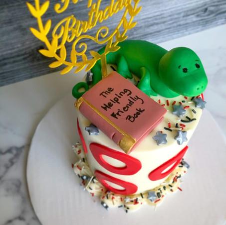 """Phish custom 4"""" cake"""