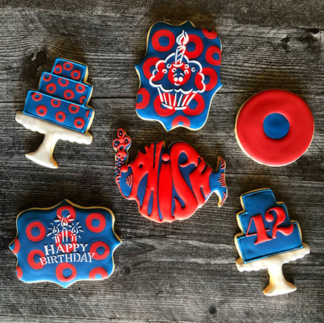 Phish Birthday Cookies