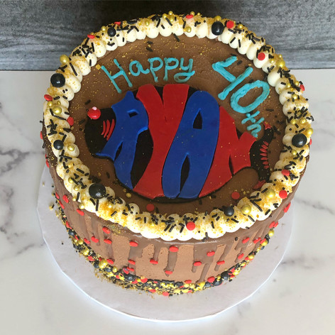 Phish birthday cake