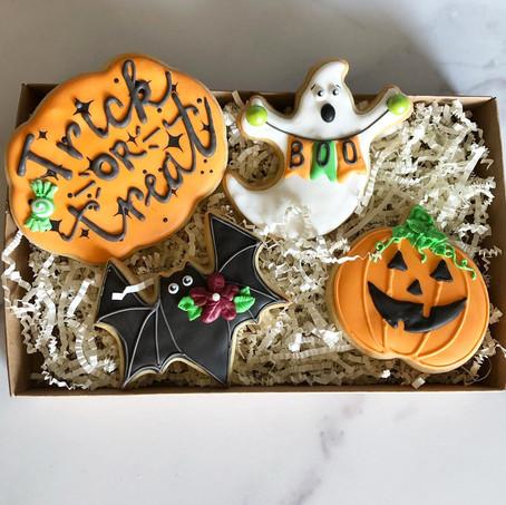 Halloween gift box