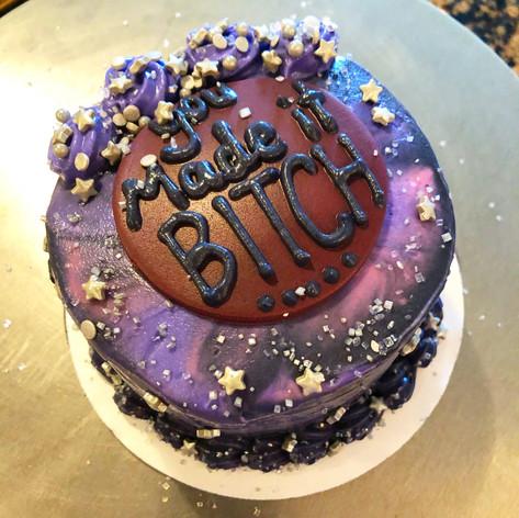 Get Well Soon galaxy carrot cake