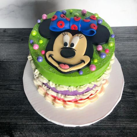 Minnie Mouse/Phish Cake