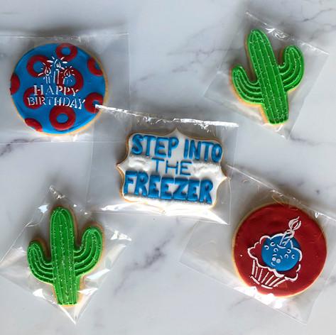 Phish custom sugar cookies