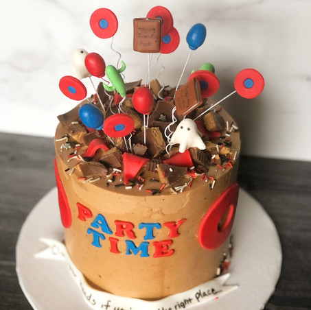 Phish Explosion Cake