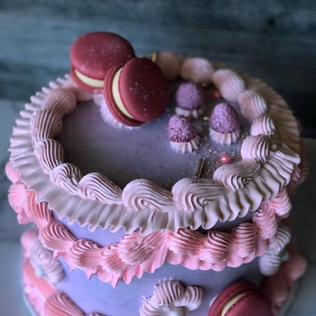 Bridal Shower Tea Party Cake
