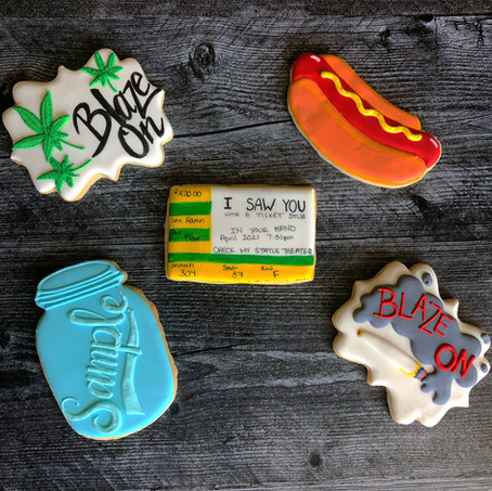 Phish Birthday Sugar Cookies