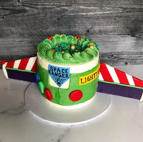 Buzz Lightyear Buttercream Cake