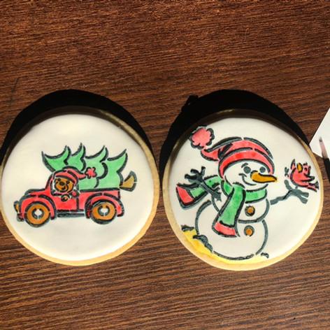 DIY winter cookie pack