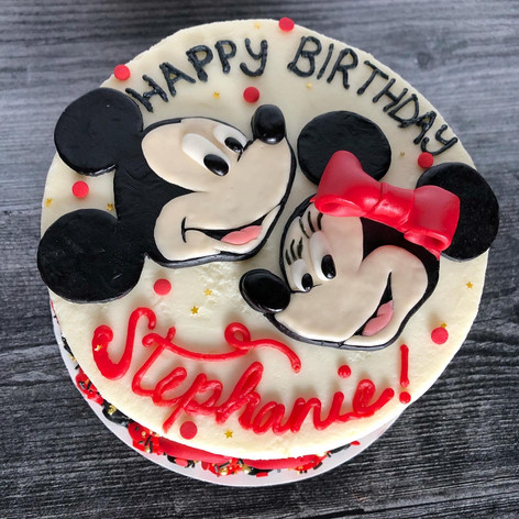 Micky & Minnie mouse cake