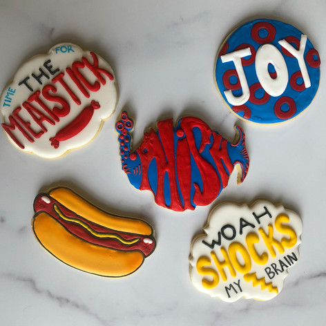 Phish Themed Cookies