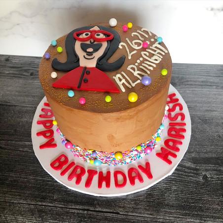 Tina Belcher Birthday Cake
