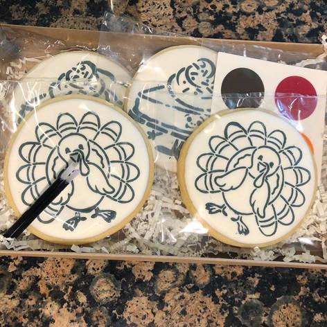 Thanksgiving DIY cookie box