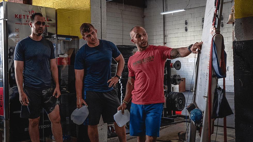 Coach Johnny at Crossfit ECF Get Started