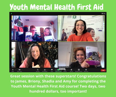 Copy of Great session with these superstars! Congratulations to James, Briony, Shadia and