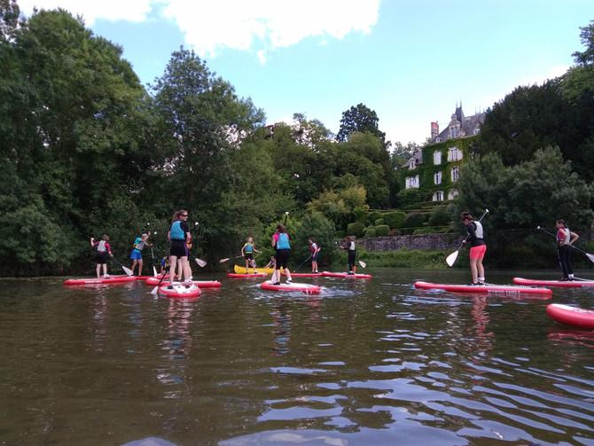 Les sorties de l'été avec Tiercé Canoë kayak