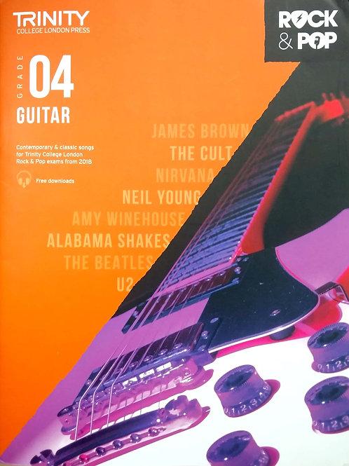 Guitar (Grade 4) Trinity Rock & Pop