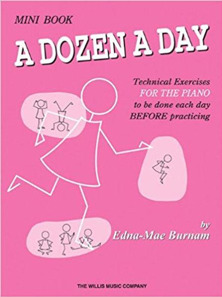 Dozen a Day Mini Book (Piano)