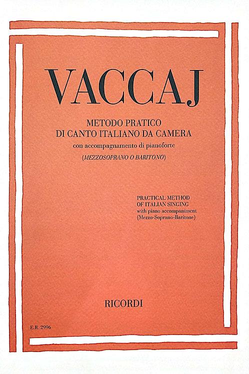 Vaccaj Technique (Mezzo Soprano and Baritone Voice)