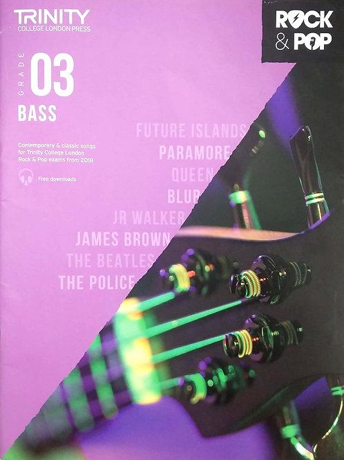 Bass Guitar - Grade 3 (Trinity Rock & Pop)