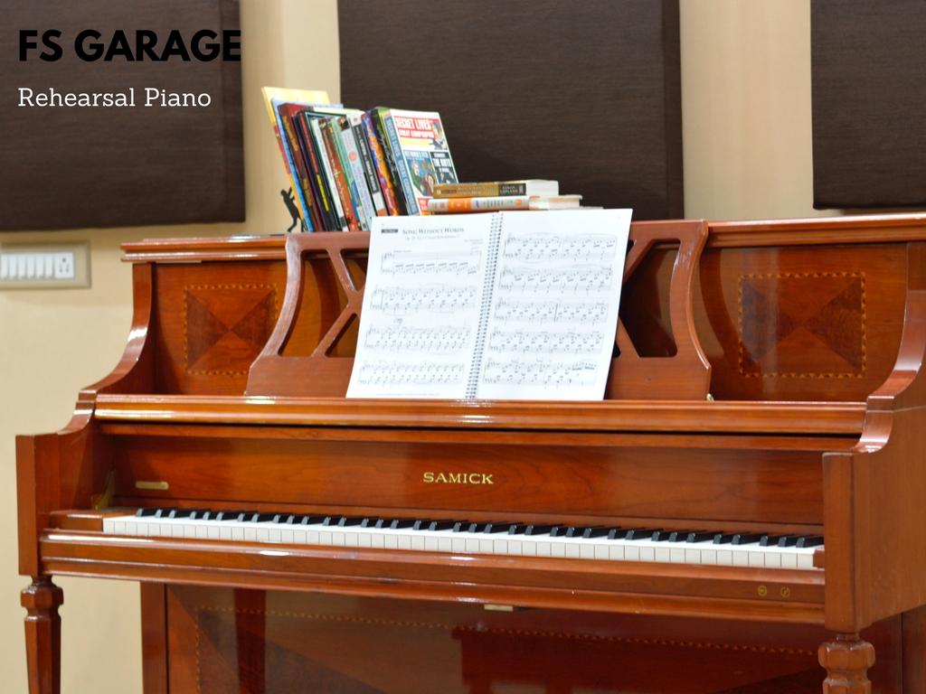 Rehearsal Piano