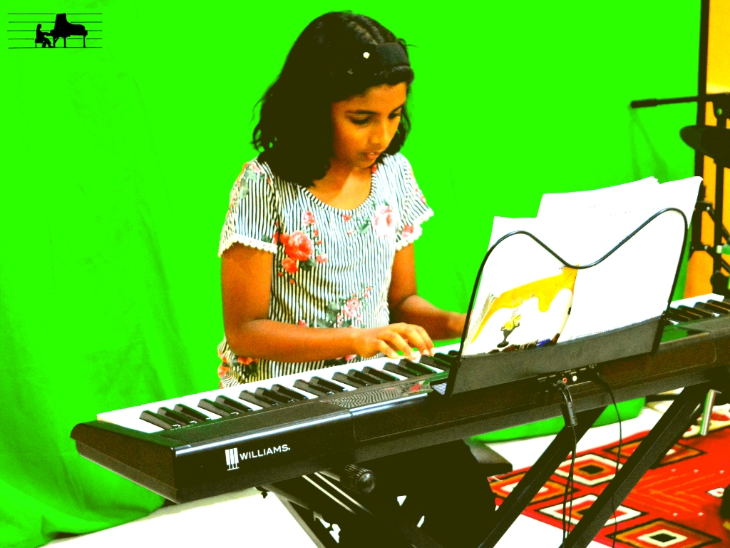 Angelina plays 'Enchanted Garden' from T