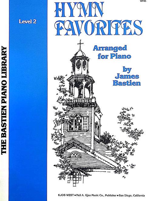 Hymn Favourites (Piano) Level 2 - Bastein