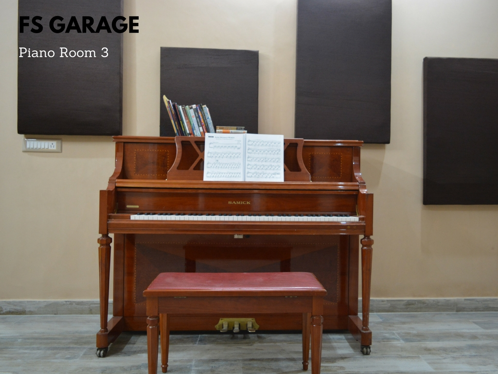 Piano Rehearsal Room