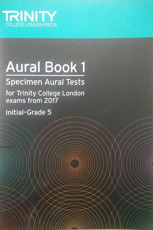 Aural Book (Initial - Grade 5) Trinity