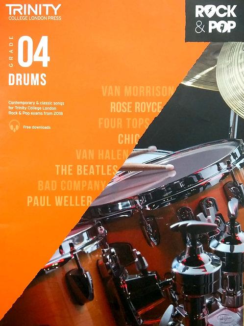 Drums (Grade 4) Trinity Rock & Pop