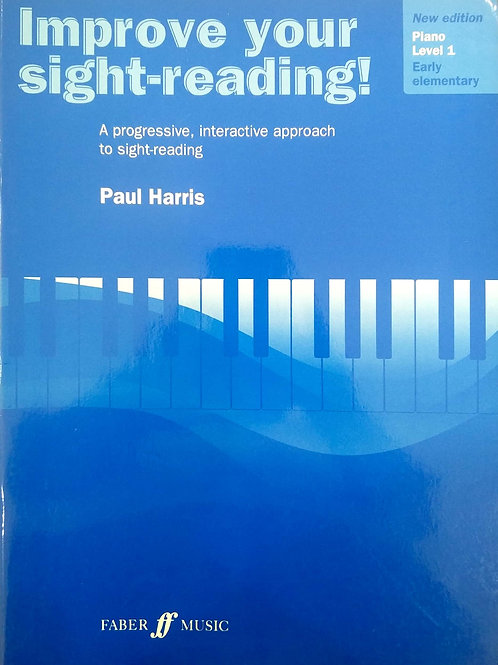 Improve your Sight Reading - Level 1 (Piano) - Paul Harris