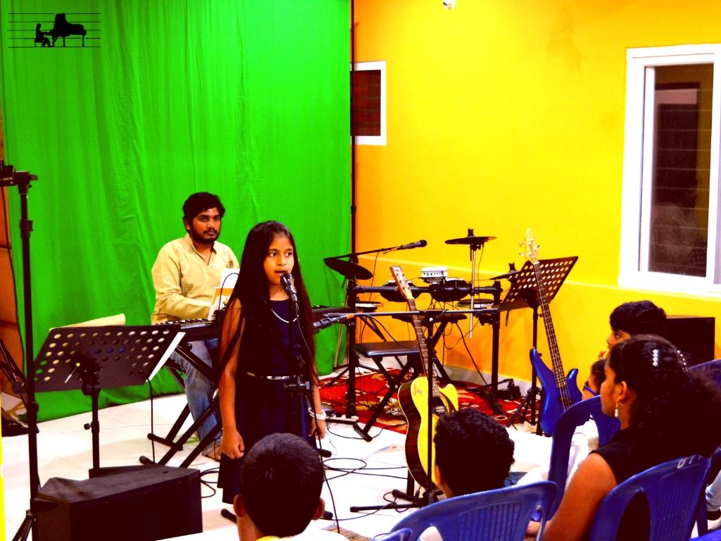 Diya sings 'Tomorrow' from Annie